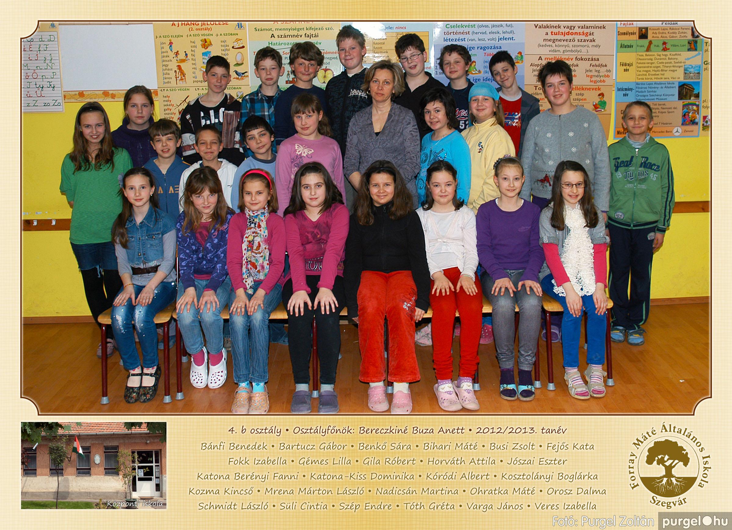 2013.04.04-05.24. 015 Forray Máté Általános Iskola osztályképek 2013. - Fotó:PURGEL ZOLTÁN© 4b-1.jpg