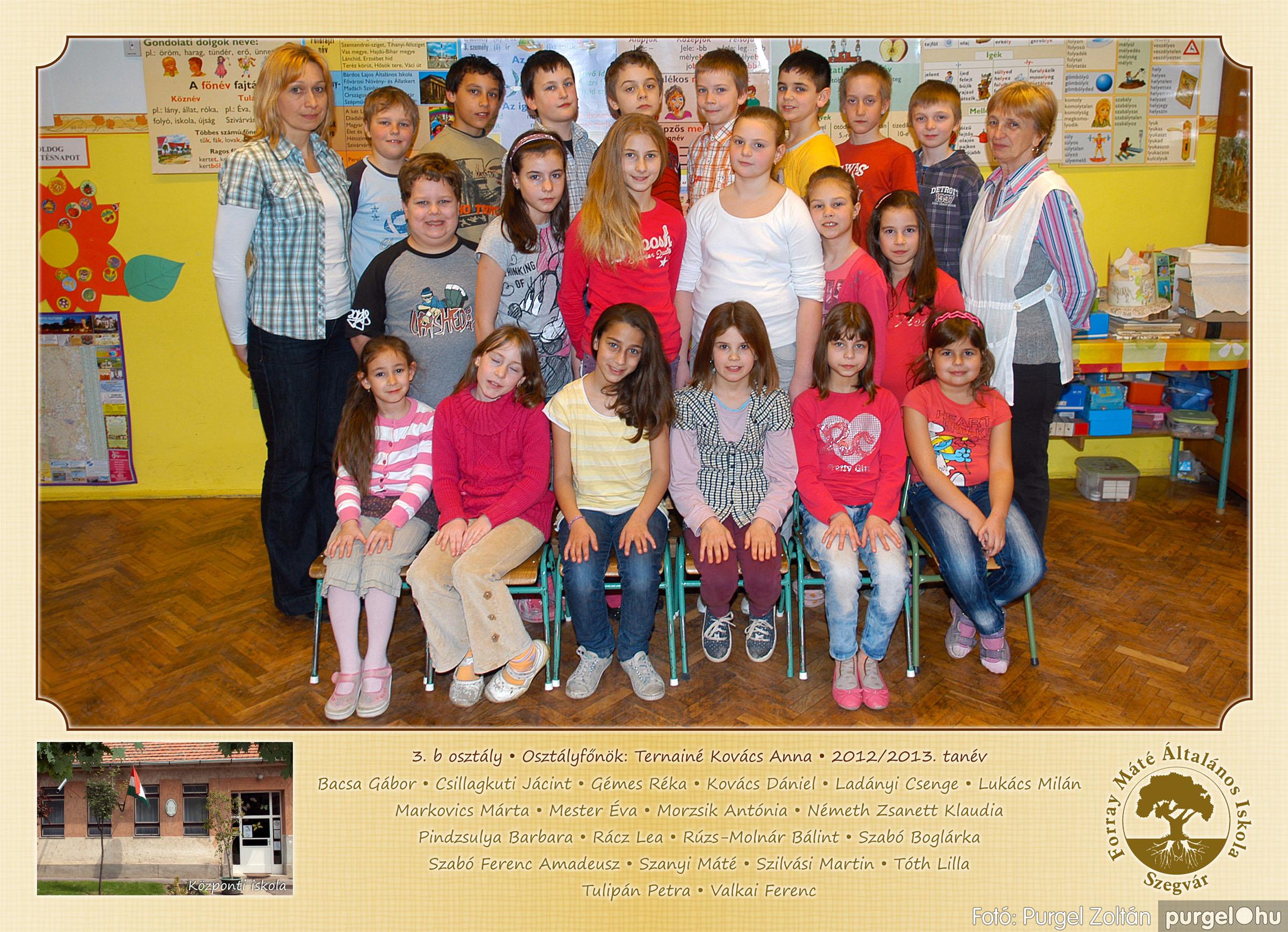 2013.04.04-05.24. 011 Forray Máté Általános Iskola osztályképek 2013. - Fotó:PURGEL ZOLTÁN© 3b-1.jpg