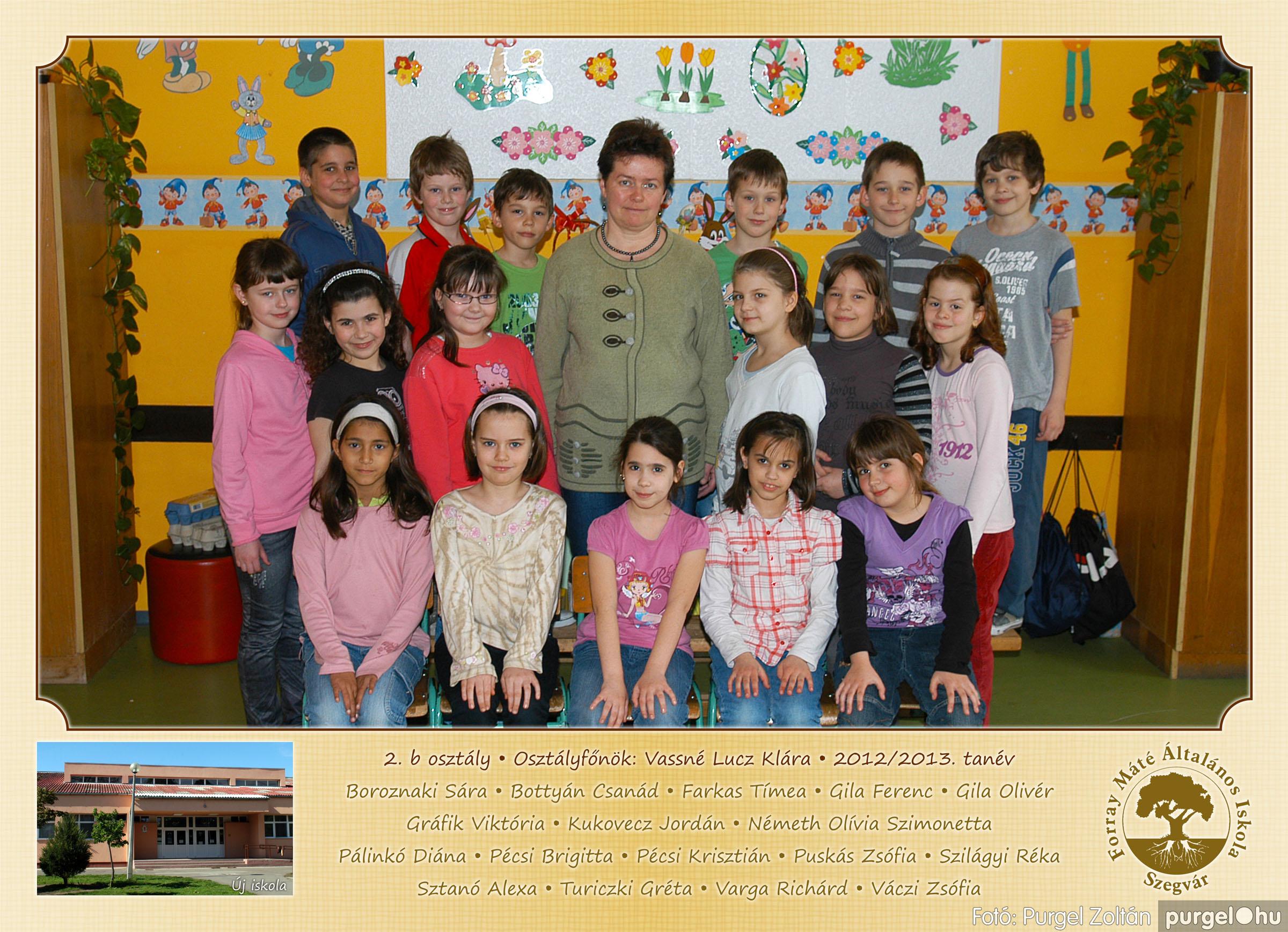 2013.04.04-05.24. 007 Forray Máté Általános Iskola osztályképek 2013. - Fotó:PURGEL ZOLTÁN© 2b-1.jpg