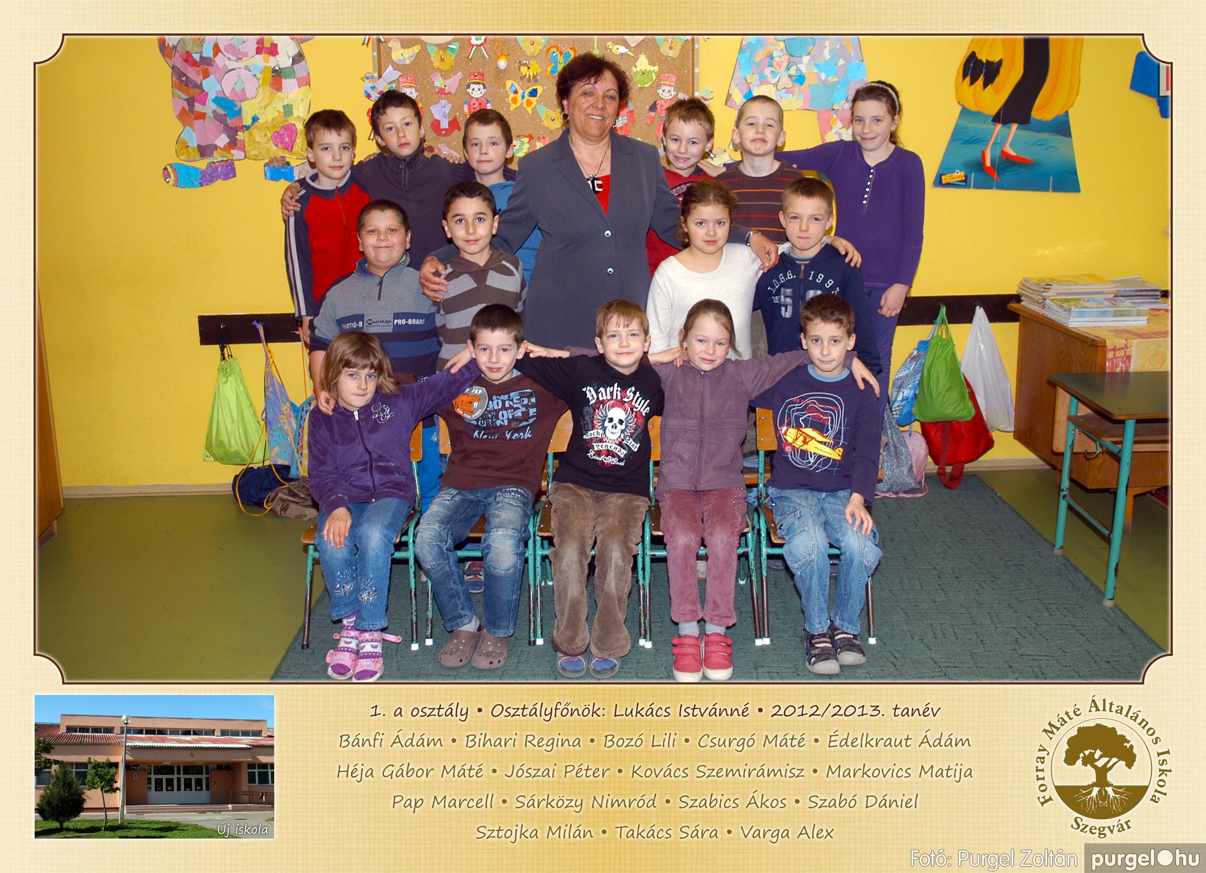 2013.04.04-05.24. 002 Forray Máté Általános Iskola osztályképek 2013. - Fotó:PURGEL ZOLTÁN© 1a-2.jpg
