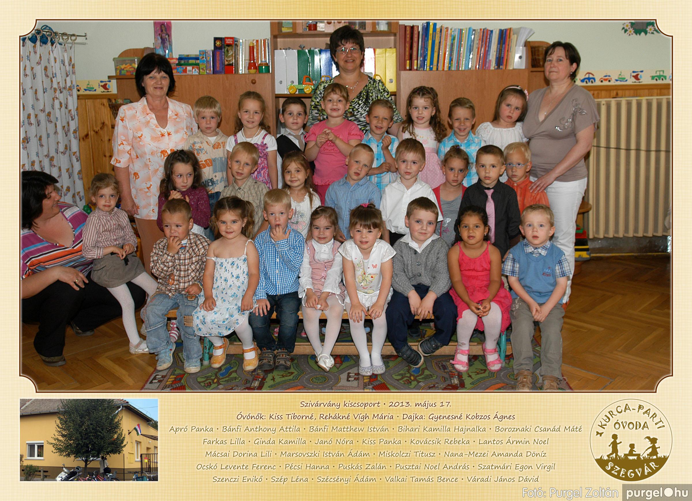 2013.05.16-25. 023 Kurca-parti Óvoda csoportképek 2013. - Fotó:PURGEL ZOLTÁN© 653Szivárvány.jpg