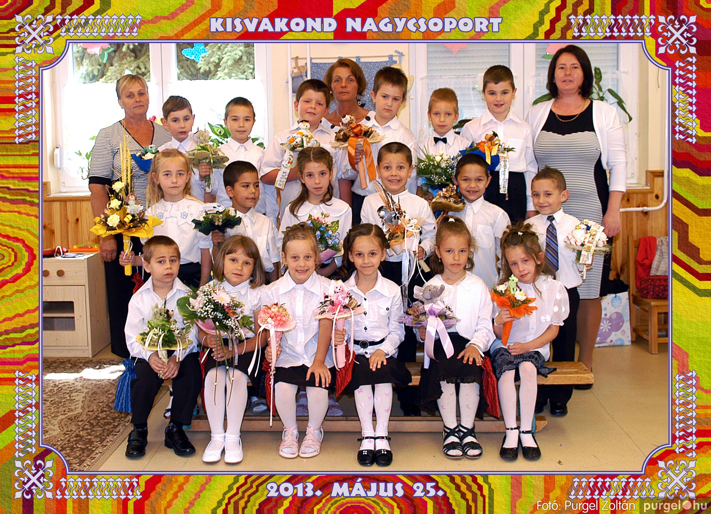 2013.05.16-25. 014 Kurca-parti Óvoda csoportképek 2013. - Fotó:PURGEL ZOLTÁN© 452Kisvakond.jpg