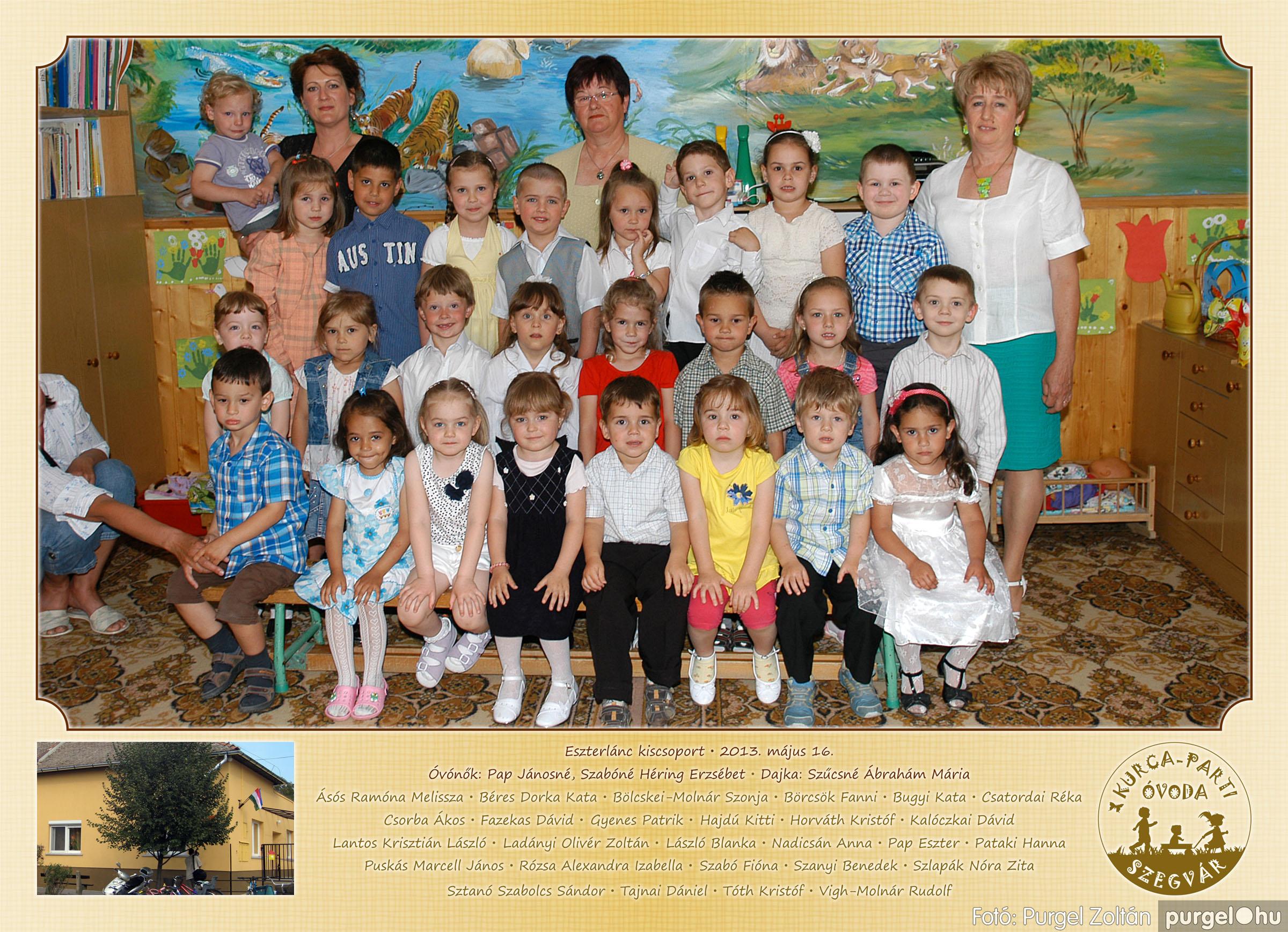 2013.05.16-25. 003 Kurca-parti Óvoda csoportképek 2013. - Fotó:PURGEL ZOLTÁN© 153Eszterlánc.jpg