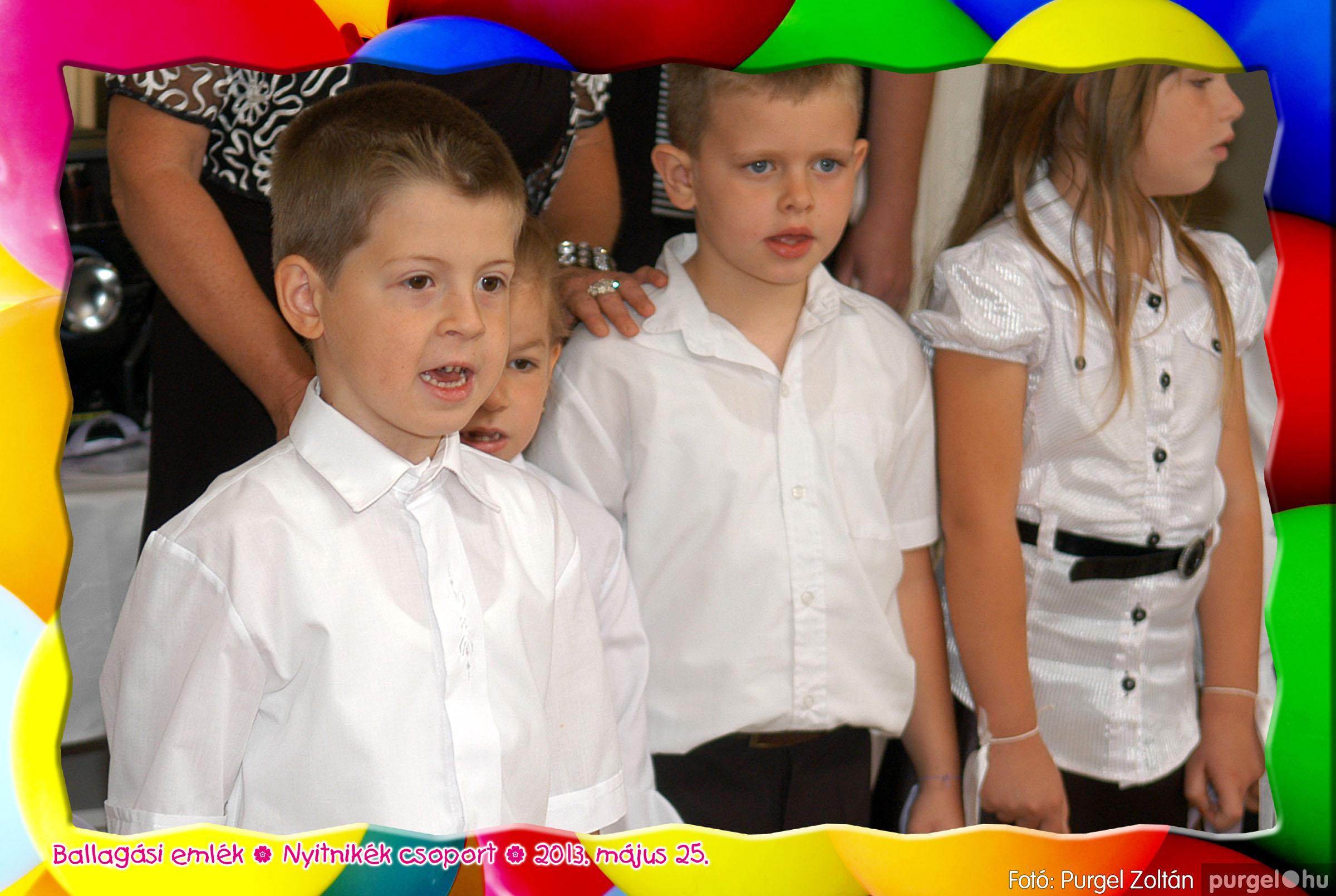 2013.05.25. 203 Kurca-parti Óvoda évzáró 2013. - Nyitnikék csoport - Fotó:PURGEL ZOLTÁN© 524.jpg