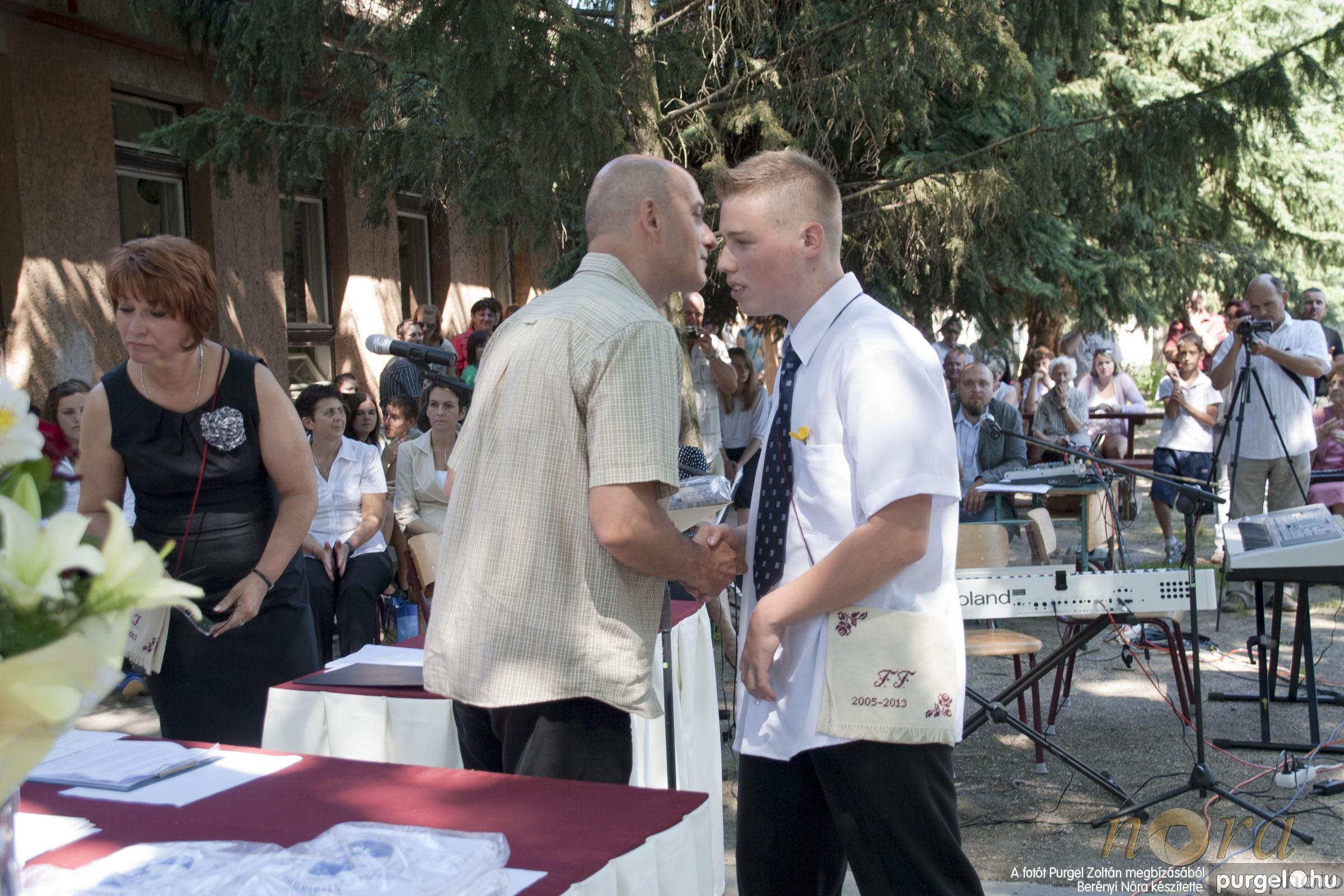 2013.06.15. 311 Forray Máté Általános Iskola ballagás 2013. - Fotó:BERÉNYI NÓRA© _MG_1396.JPG