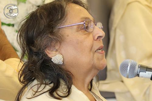 Rashida Begum, expresses her views