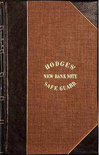 1856 Hodges' New Bank Note Delineator