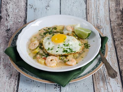 Peruanische Garnelensuppe - Chupe de Camarones (2)