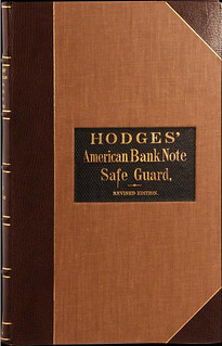 Hodges' 1864 American Bank Note Safe-Guard cover