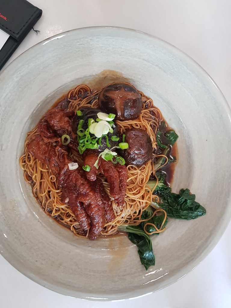 叉烧云吞幼面 Charsiew iwth Wonton Noodle rm$13.50 @ 陈明记面家 Chan Meng Kee  Restaurant at USJ 1 Damen