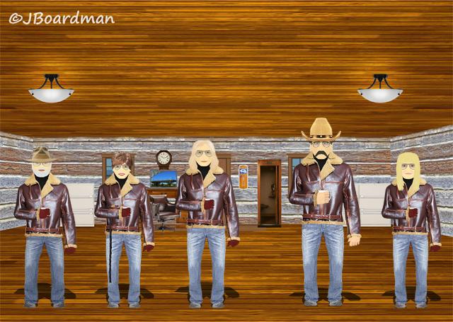 Wyatt & Chris arrived Inside the Posse HQ™ ©J Boardman