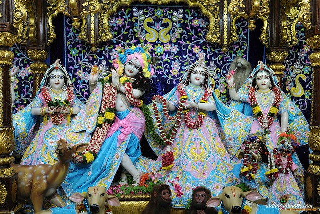 ISKCON Chowpatty Deity Darshan 04 Aug 2019