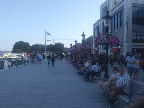 Alexandria Waterfront boardwalk