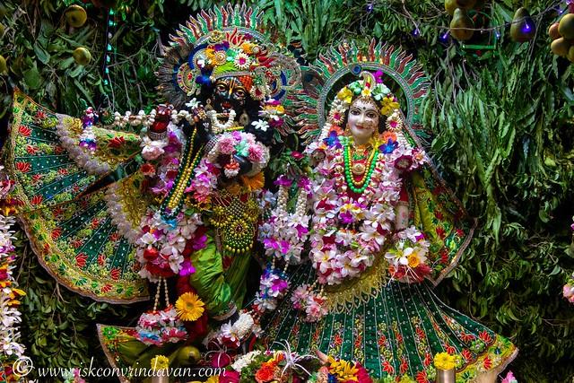 ISKCON Vrindavan Deity Darshan 04 Aug 2019
