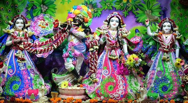 ISKCON Nasik Deity Darshan 04 Aug 2019