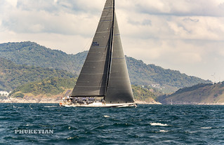 Phuket King's Cup Regatta, annual luxury yacht race in Thailand.     XOKA9044s