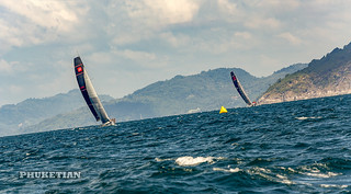 Phuket King's Cup Regatta, annual luxury yacht race in Thailand.    XOKA9046b2s