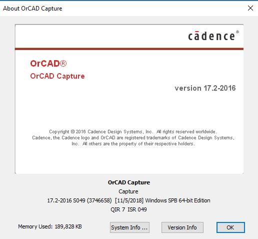Cadence SPB-OrCAD (Allegro SPB) 17.20.S049 x64 full license
