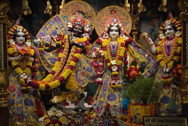 ISKCON Ujjain Deity Darshan 04 Aug 2019