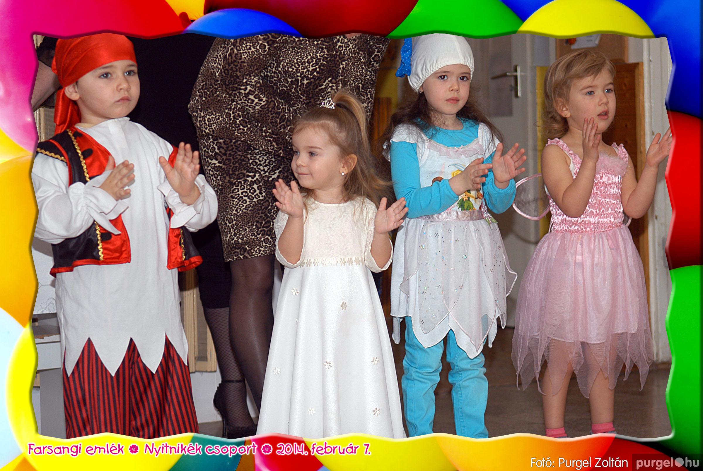 2014.02.07. 007 Kurca-parti Óvoda farsang 2014. - Nyitnikék csoport - Fotó:PURGEL ZOLTÁN© 507.jpg
