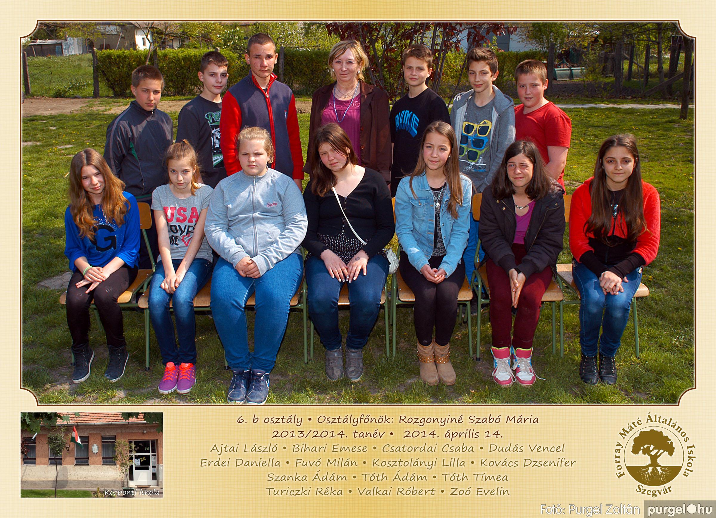 2014.04.11-05.19. 023 Forray Máté Általános Iskola osztályképek 2014. - Fotó:PURGEL ZOLTÁN© 6b-1.jpg