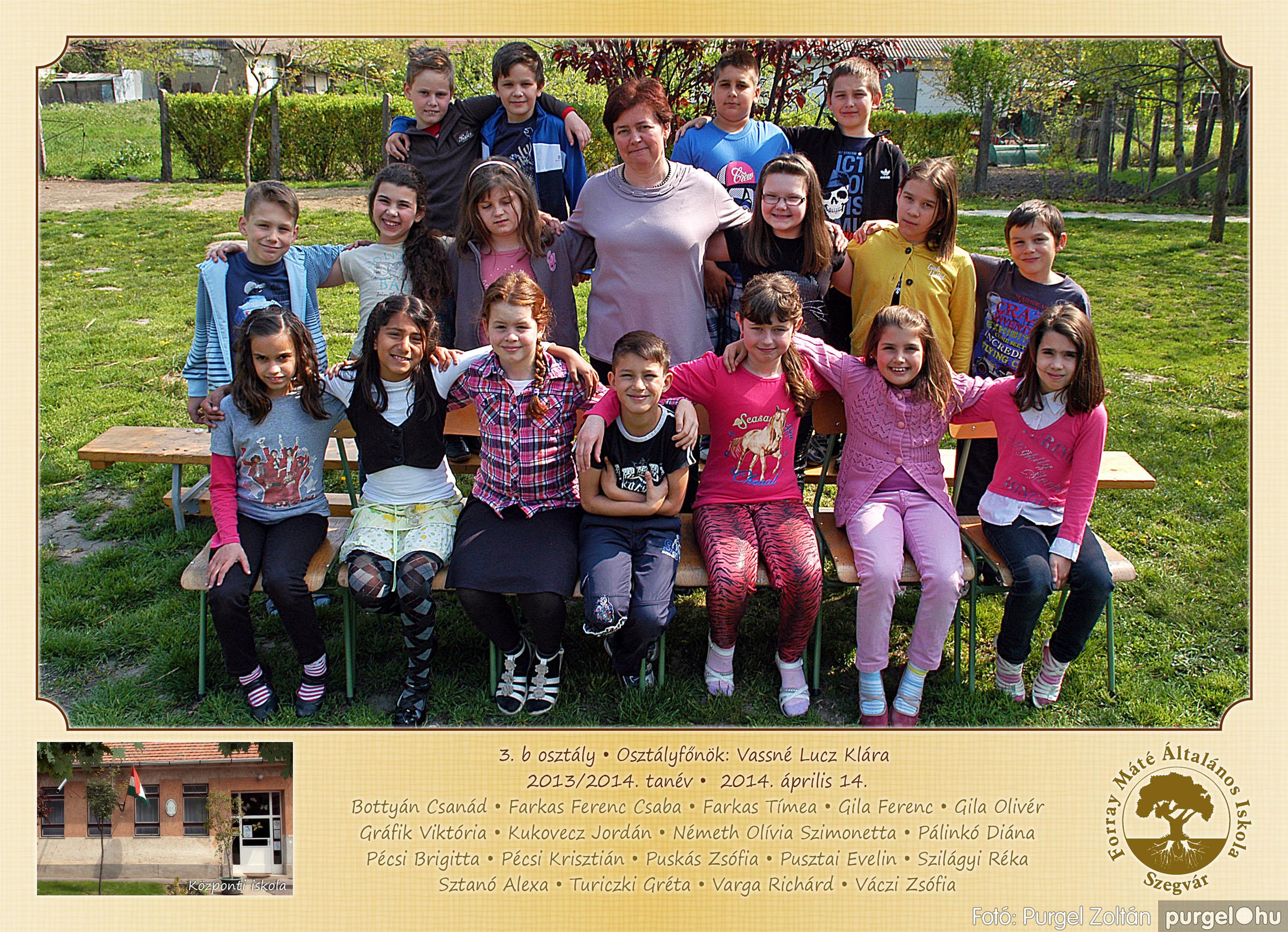 2014.04.11-05.19. 012 Forray Máté Általános Iskola osztályképek 2014. - Fotó:PURGEL ZOLTÁN© 3b-2.jpg