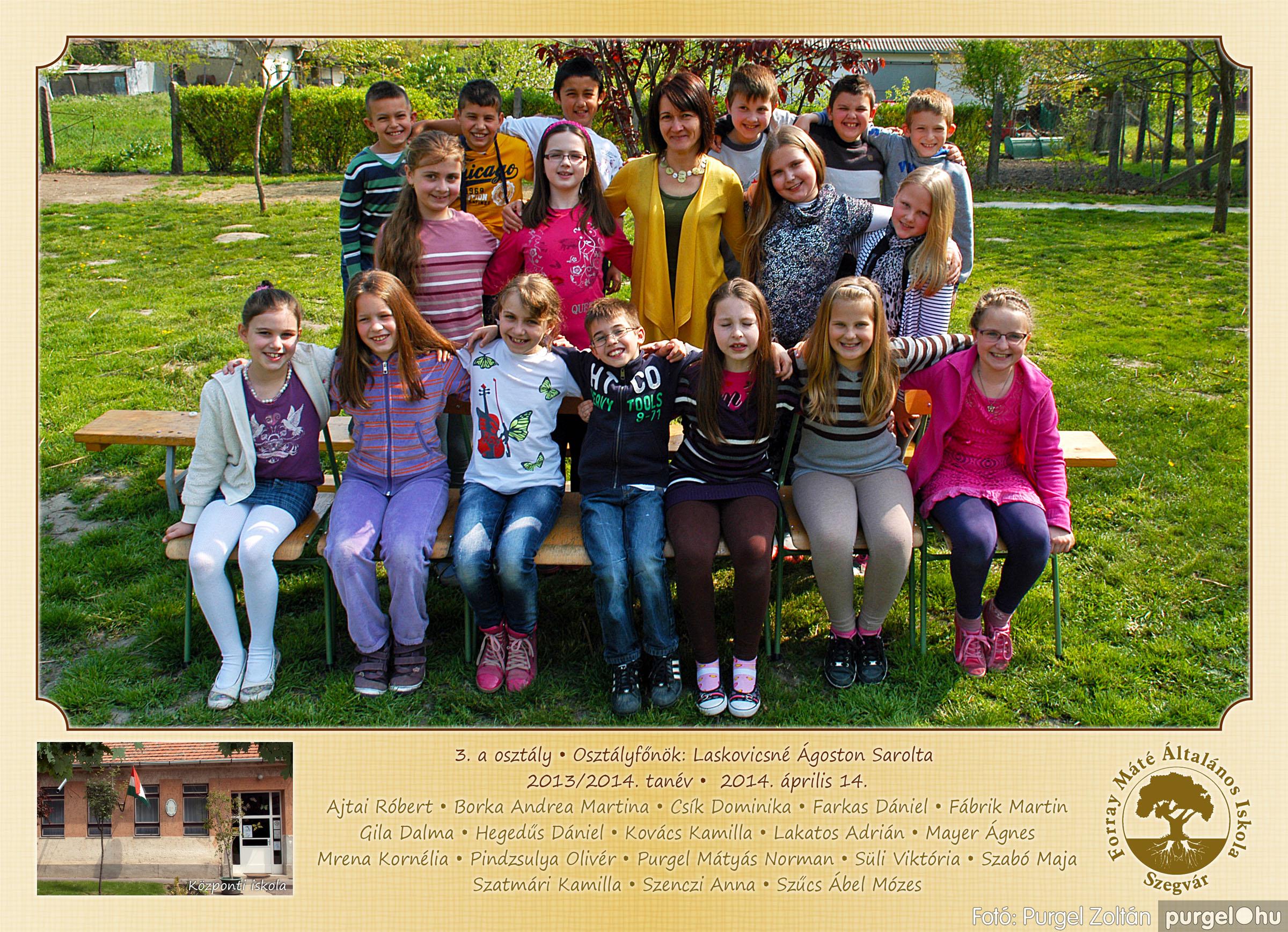 2014.04.11-05.19. 010 Forray Máté Általános Iskola osztályképek 2014. - Fotó:PURGEL ZOLTÁN© 3a-2.jpg