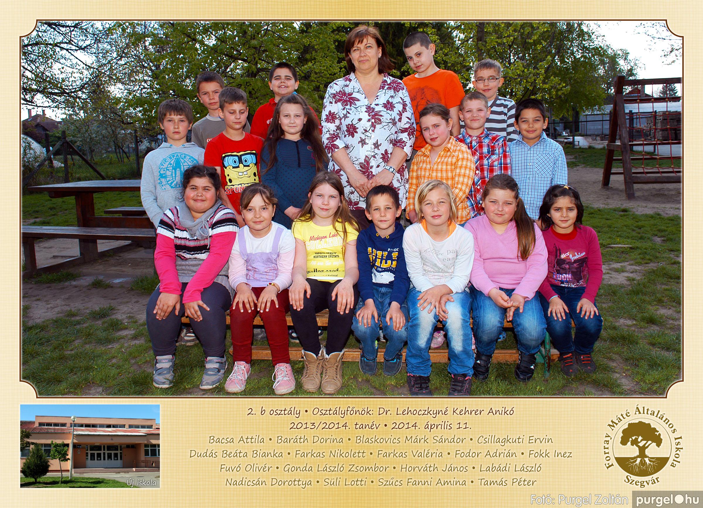 2014.04.11-05.19. 007 Forray Máté Általános Iskola osztályképek 2014. - Fotó:PURGEL ZOLTÁN© 2b-1.jpg