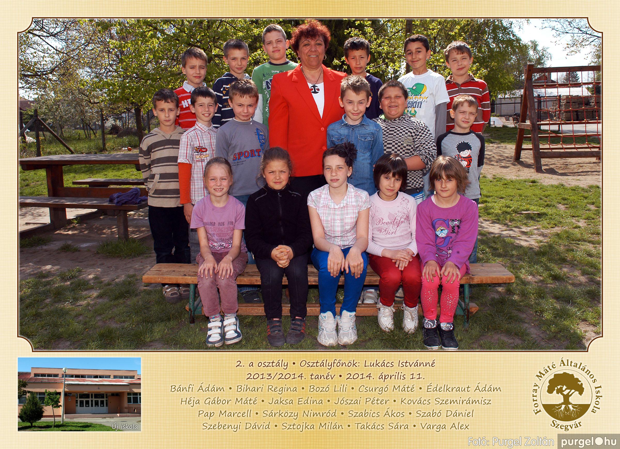2014.04.11-05.19. 005 Forray Máté Általános Iskola osztályképek 2014. - Fotó:PURGEL ZOLTÁN© 2a-1.jpg
