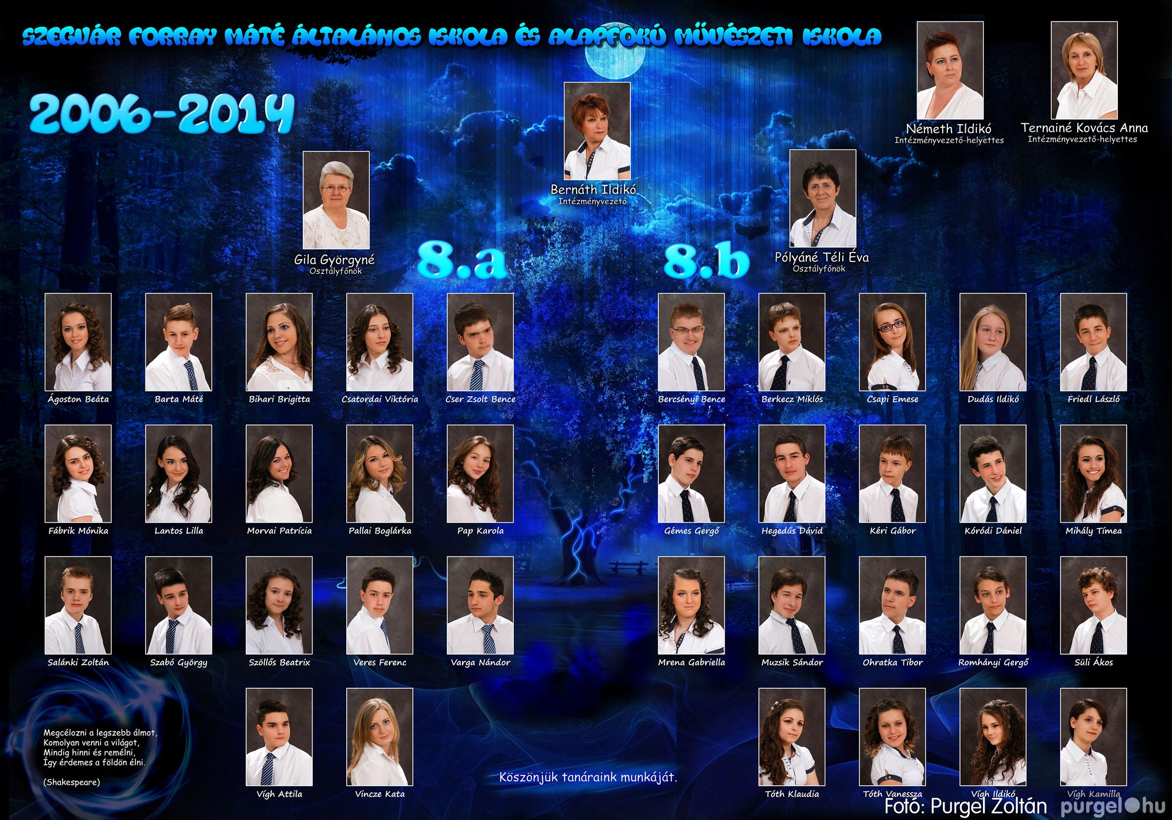 2014.06.04. 000 Forray Máté Általános Iskola tabló 2014. - Fotó:PURGEL ZOLTÁN©.jpg