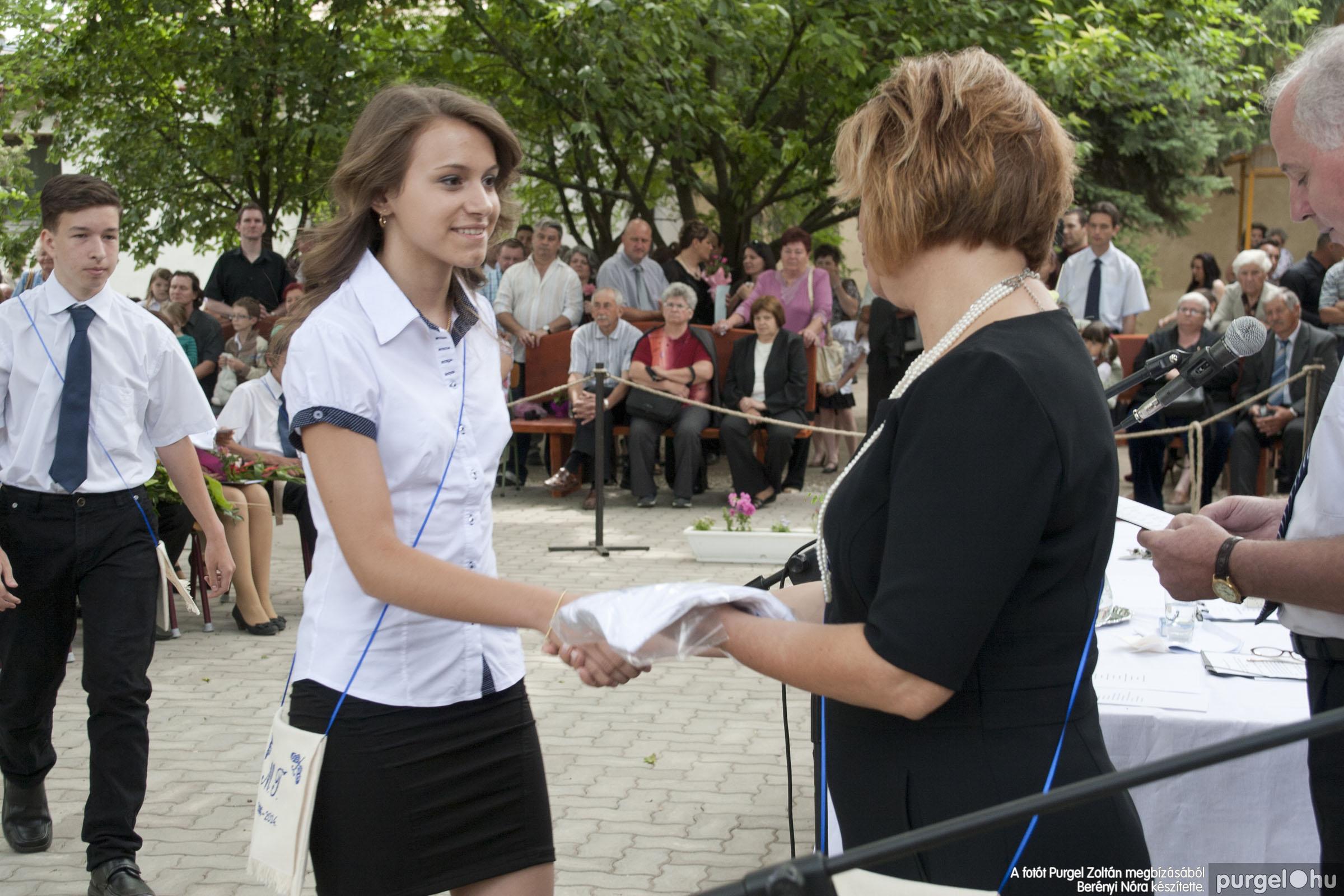 2014.06.14. 323 Forray Máté Általános Iskola ballagás 2014. - Fotó:BERÉNYI NÓRA© _MG_6051
