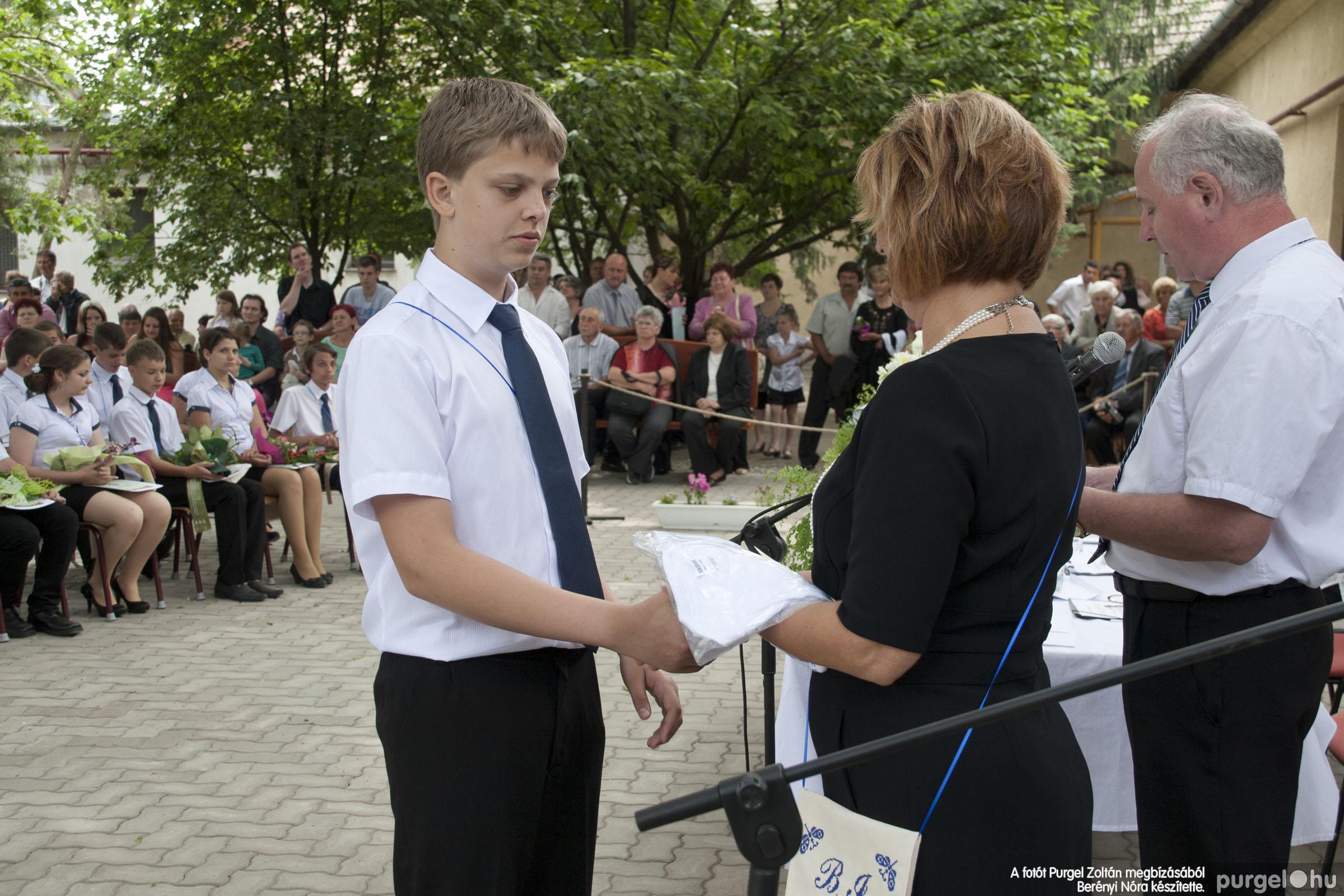 2014.06.14. 317 Forray Máté Általános Iskola ballagás 2014. - Fotó:BERÉNYI NÓRA© _MG_6045