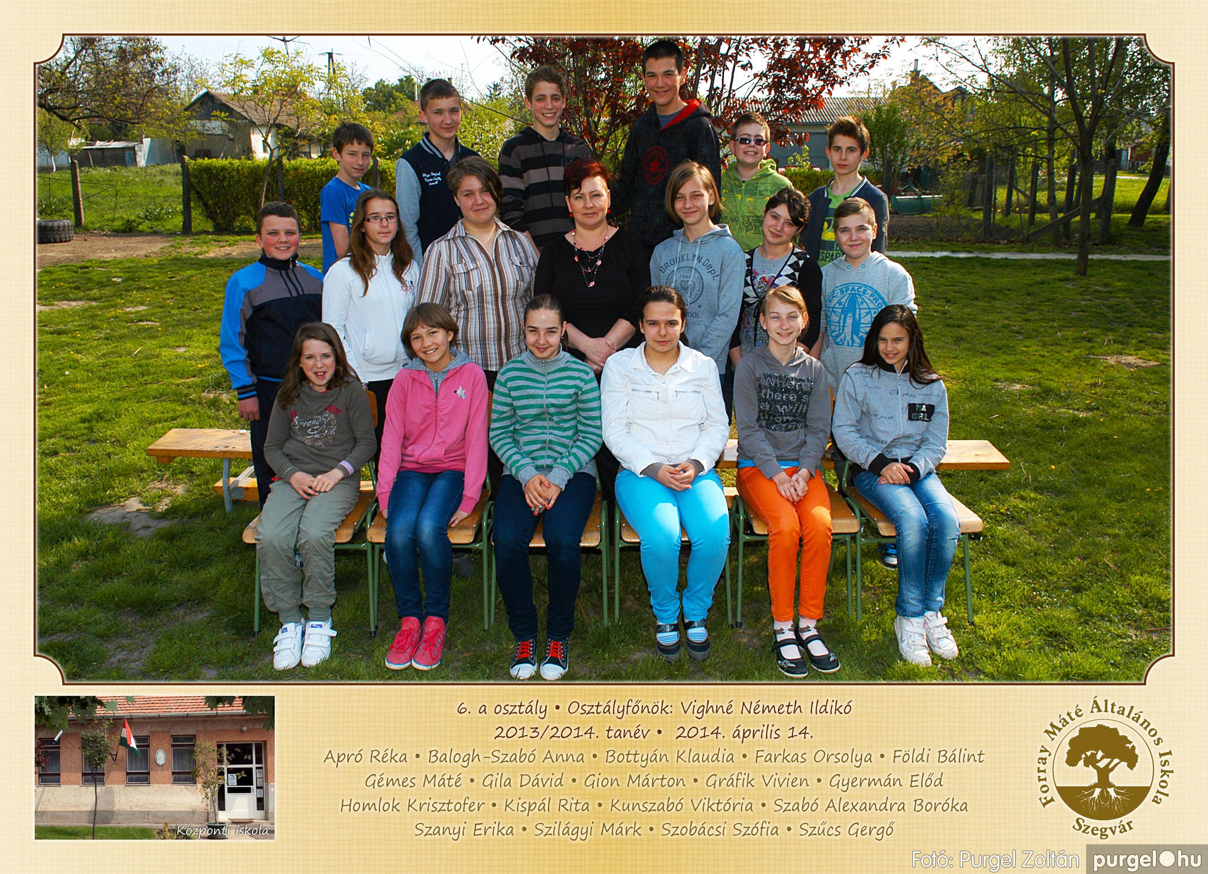 2014.04.11-05.19. 022 Forray Máté Általános Iskola osztályképek 2014. - Fotó:PURGEL ZOLTÁN© 6a-2.jpg