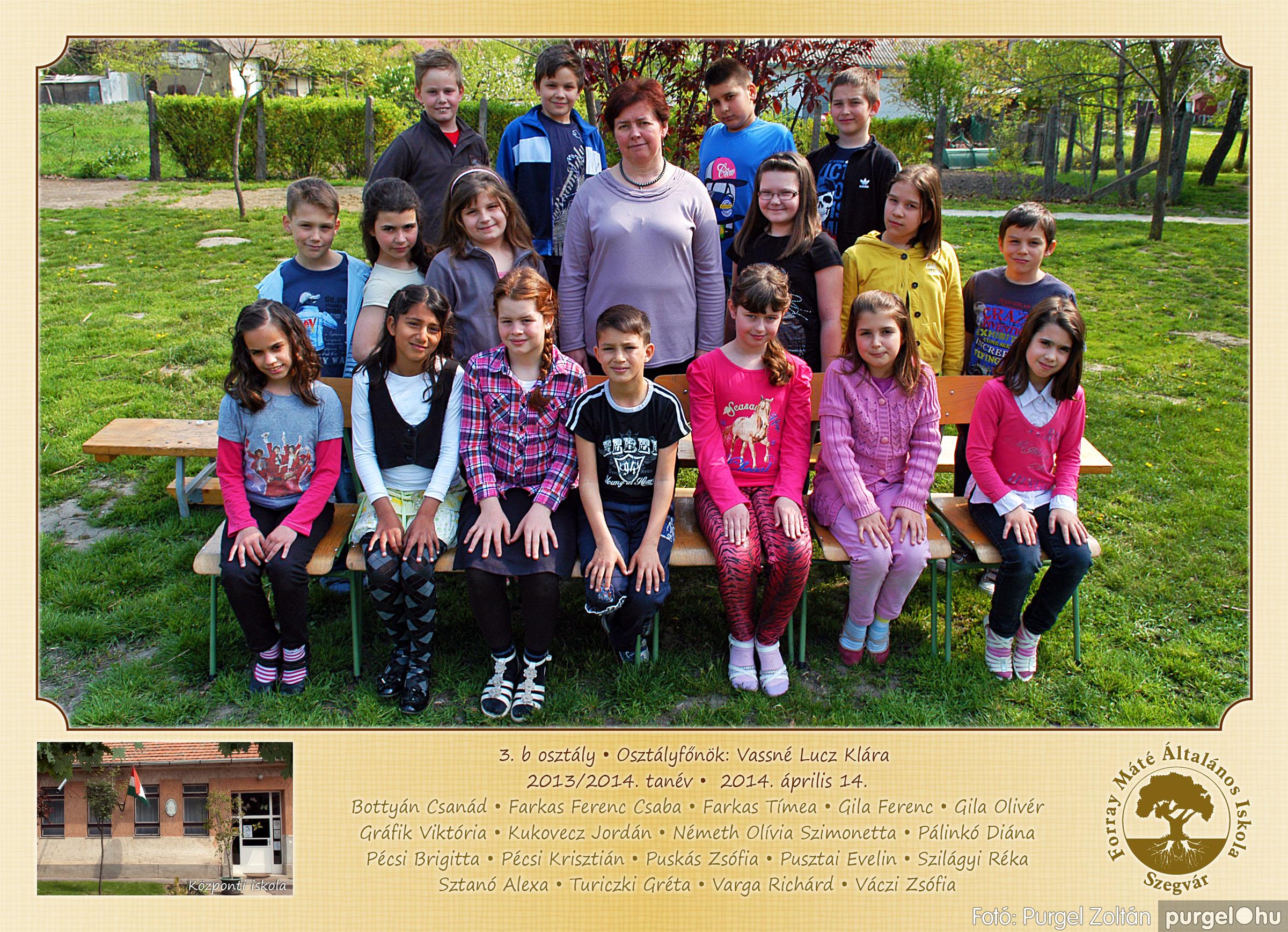 2014.04.11-05.19. 011 Forray Máté Általános Iskola osztályképek 2014. - Fotó:PURGEL ZOLTÁN© 3b-1.jpg