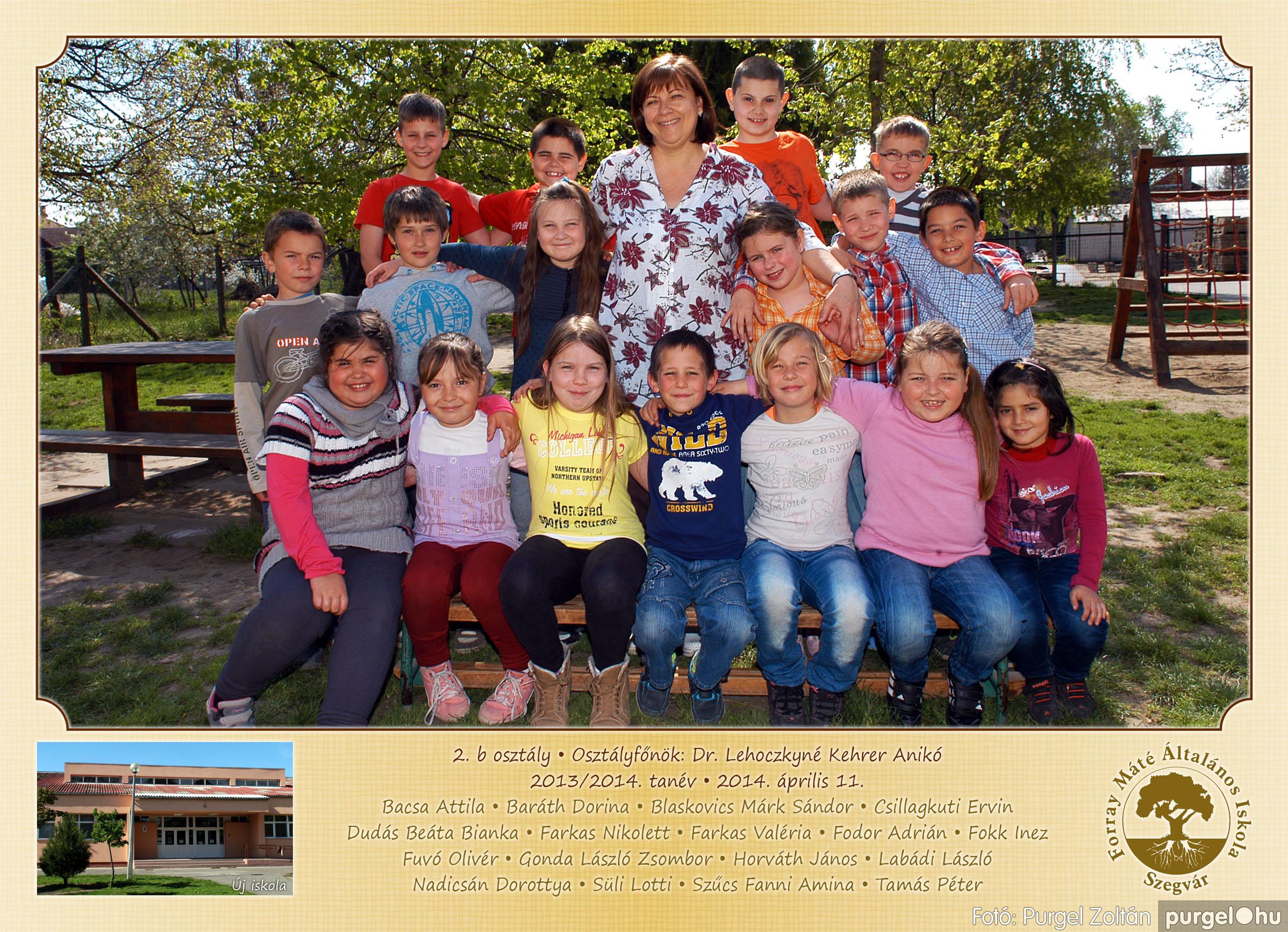 2014.04.11-05.19. 008 Forray Máté Általános Iskola osztályképek 2014. - Fotó:PURGEL ZOLTÁN© 2b-2.jpg