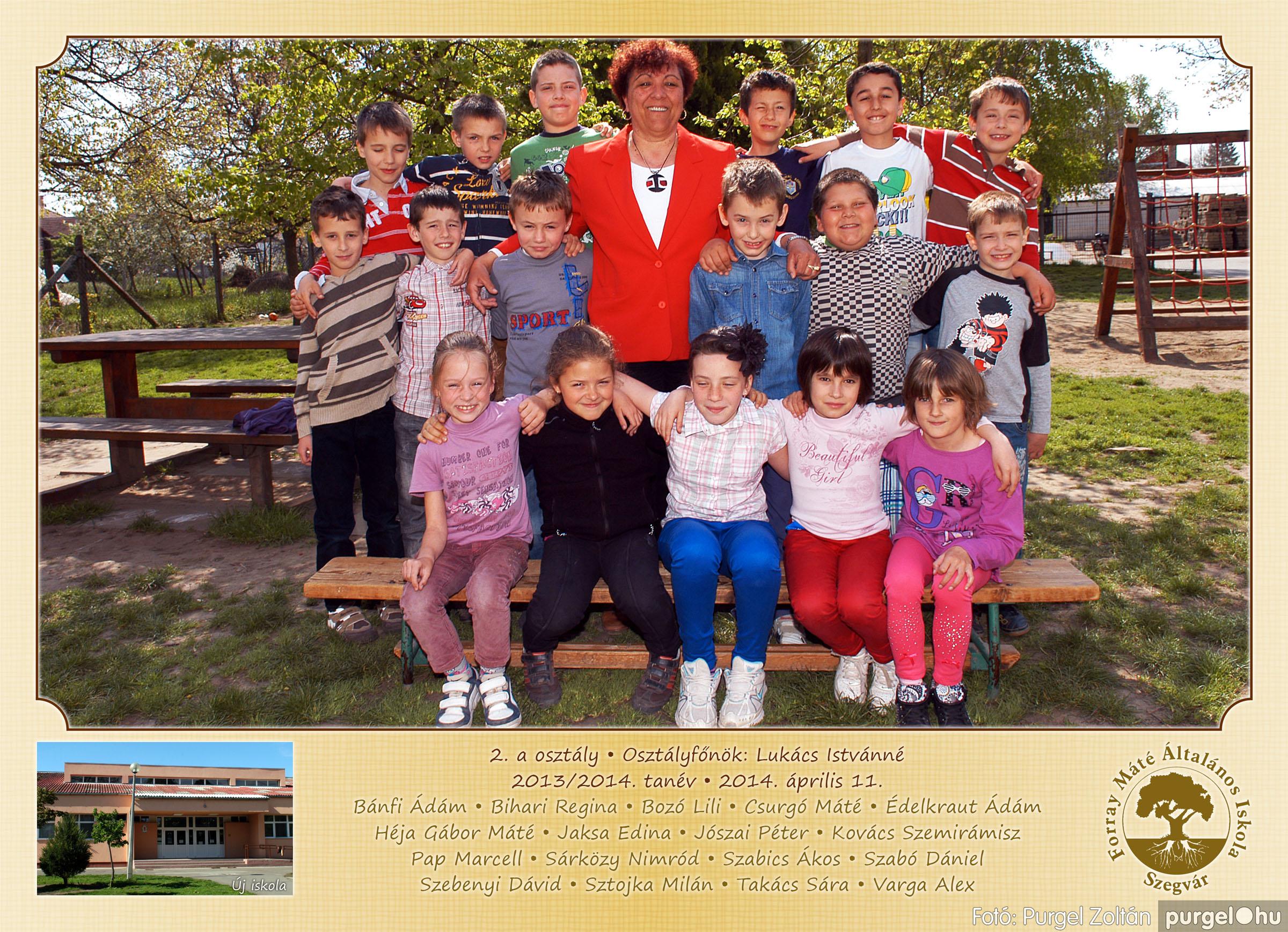 2014.04.11-05.19. 006 Forray Máté Általános Iskola osztályképek 2014. - Fotó:PURGEL ZOLTÁN© 2a-2.jpg