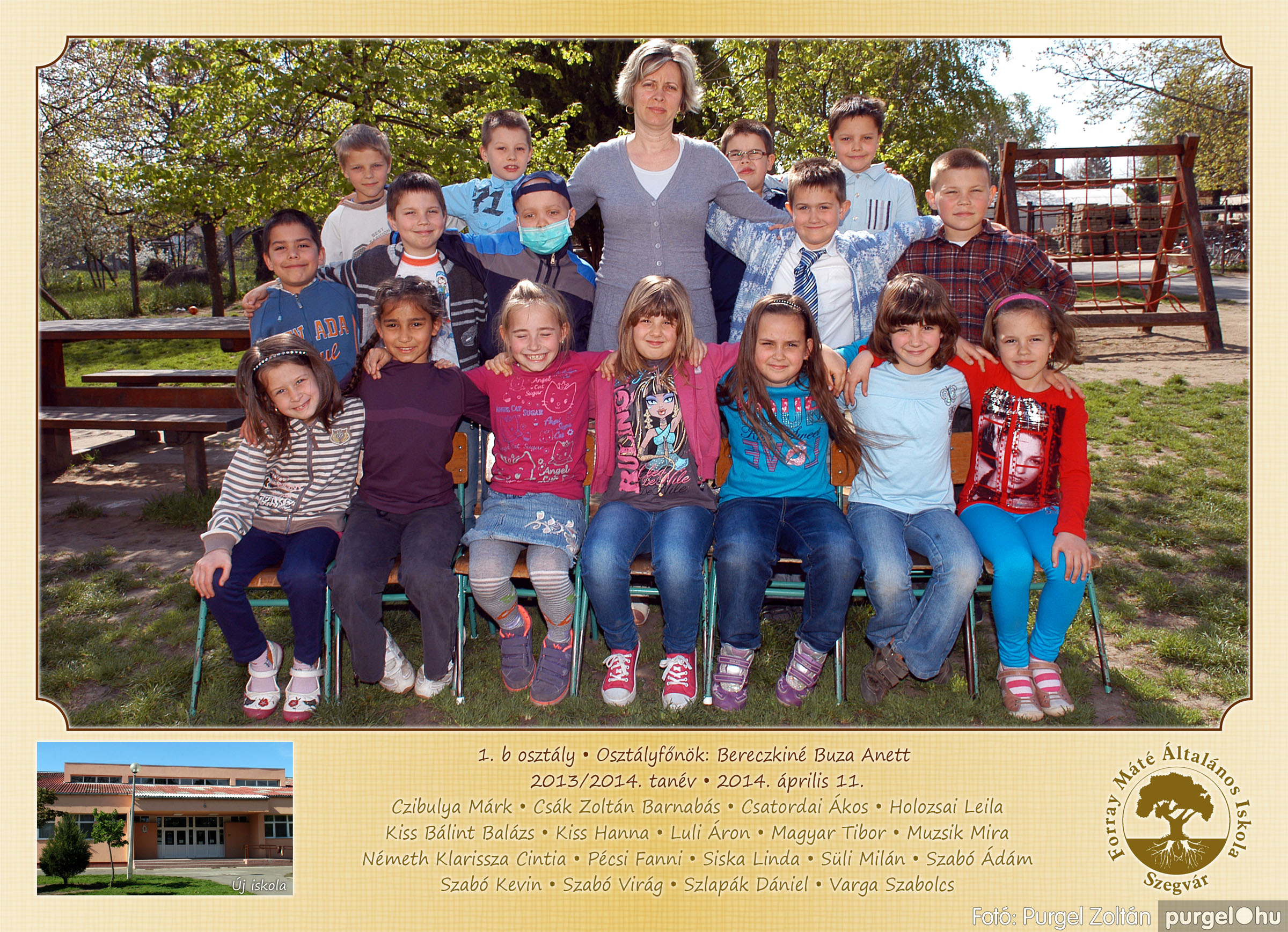 2014.04.11-05.19. 004 Forray Máté Általános Iskola osztályképek 2014. - Fotó:PURGEL ZOLTÁN© 1b-2.jpg