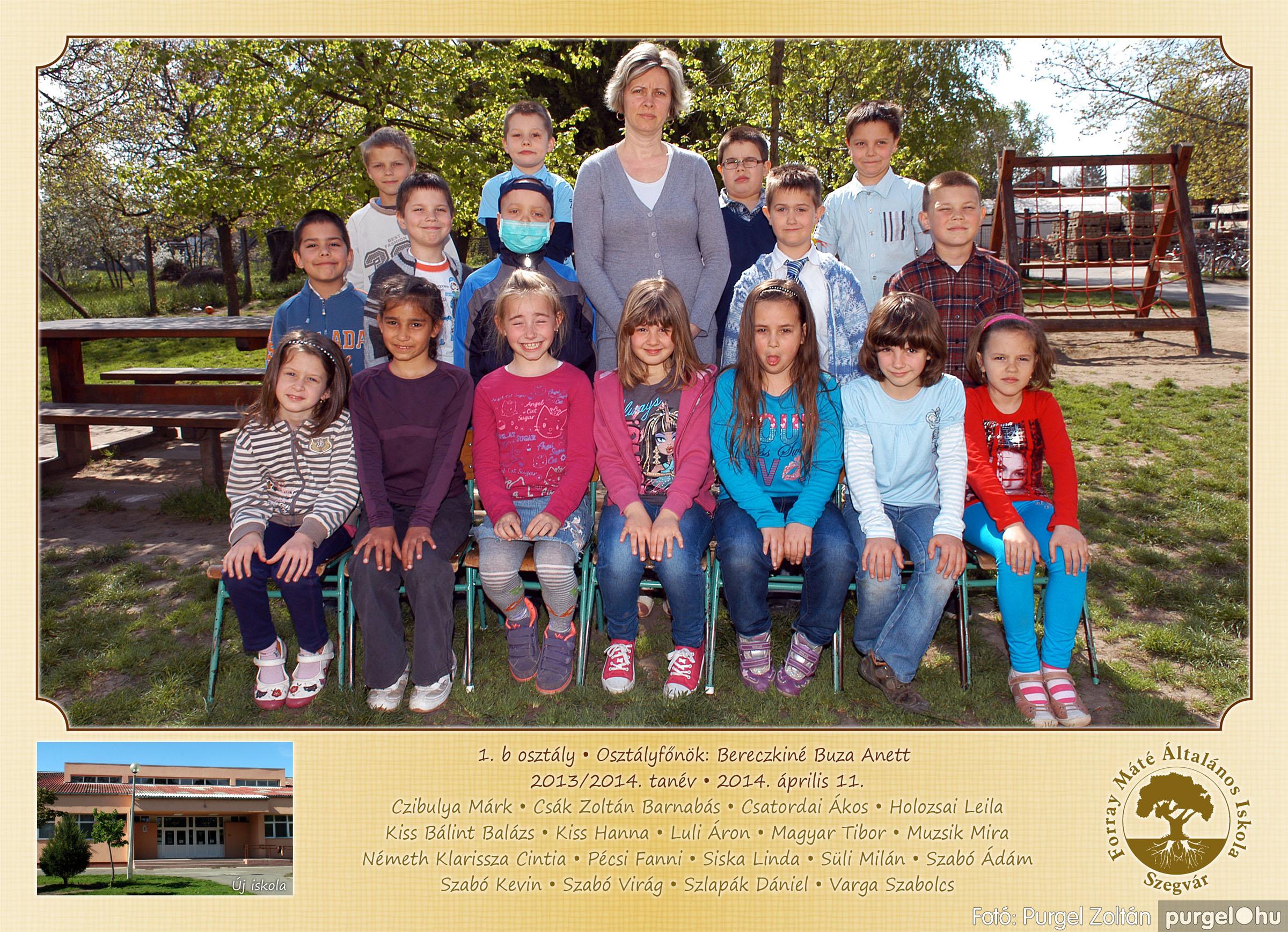 2014.04.11-05.19. 003 Forray Máté Általános Iskola osztályképek 2014. - Fotó:PURGEL ZOLTÁN© 1b-1.jpg