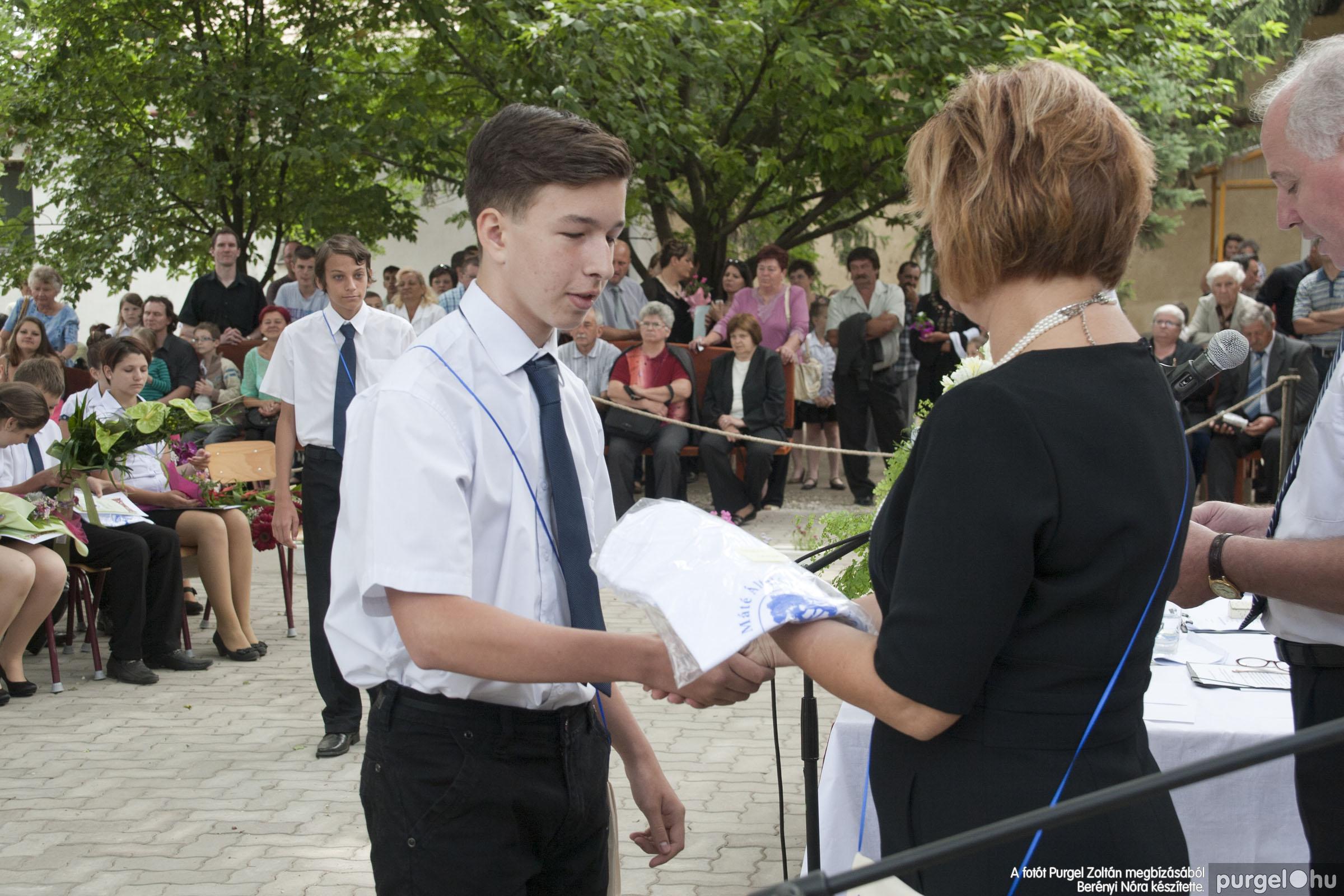 2014.06.14. 324 Forray Máté Általános Iskola ballagás 2014. - Fotó:BERÉNYI NÓRA© _MG_6052