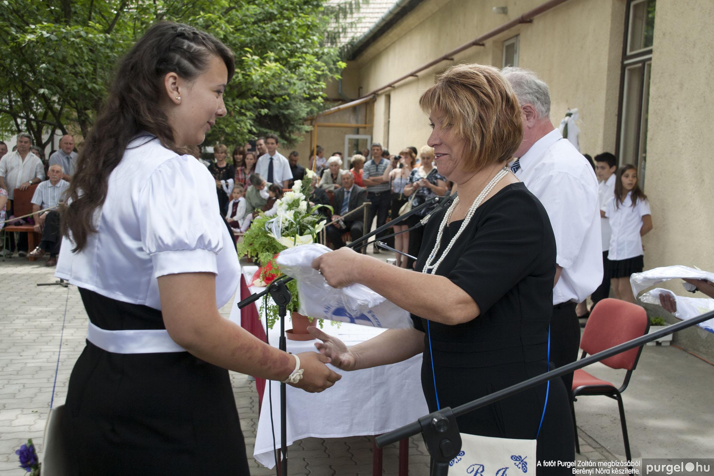 2014.06.14. 313 Forray Máté Általános Iskola ballagás 2014. - Fotó:BERÉNYI NÓRA© _MG_6041