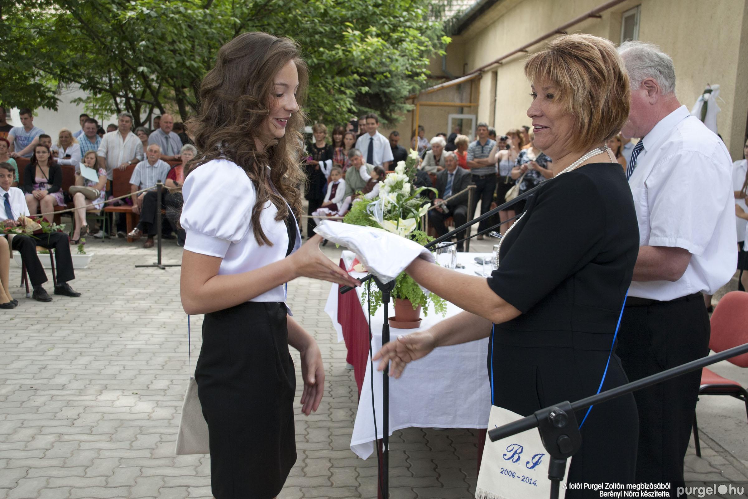 2014.06.14. 312 Forray Máté Általános Iskola ballagás 2014. - Fotó:BERÉNYI NÓRA© _MG_6040