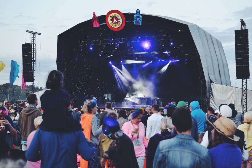 Castle Stage Camp Bestival