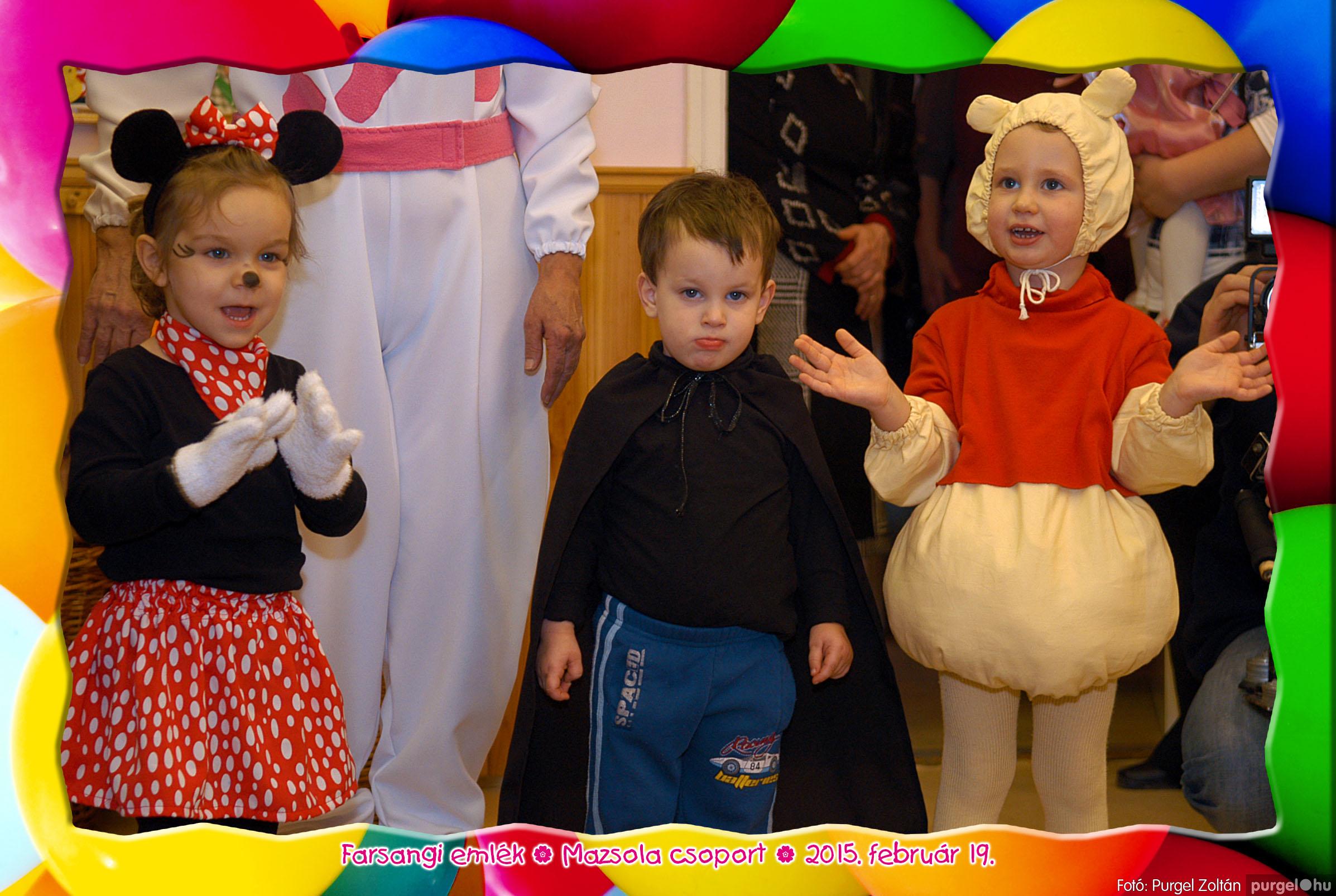 2015.02.19. 149 Kurca-parti Óvoda farsang 2015. - Mazsola csoport - Fotó:PURGEL ZOLTÁN© 406.jpg