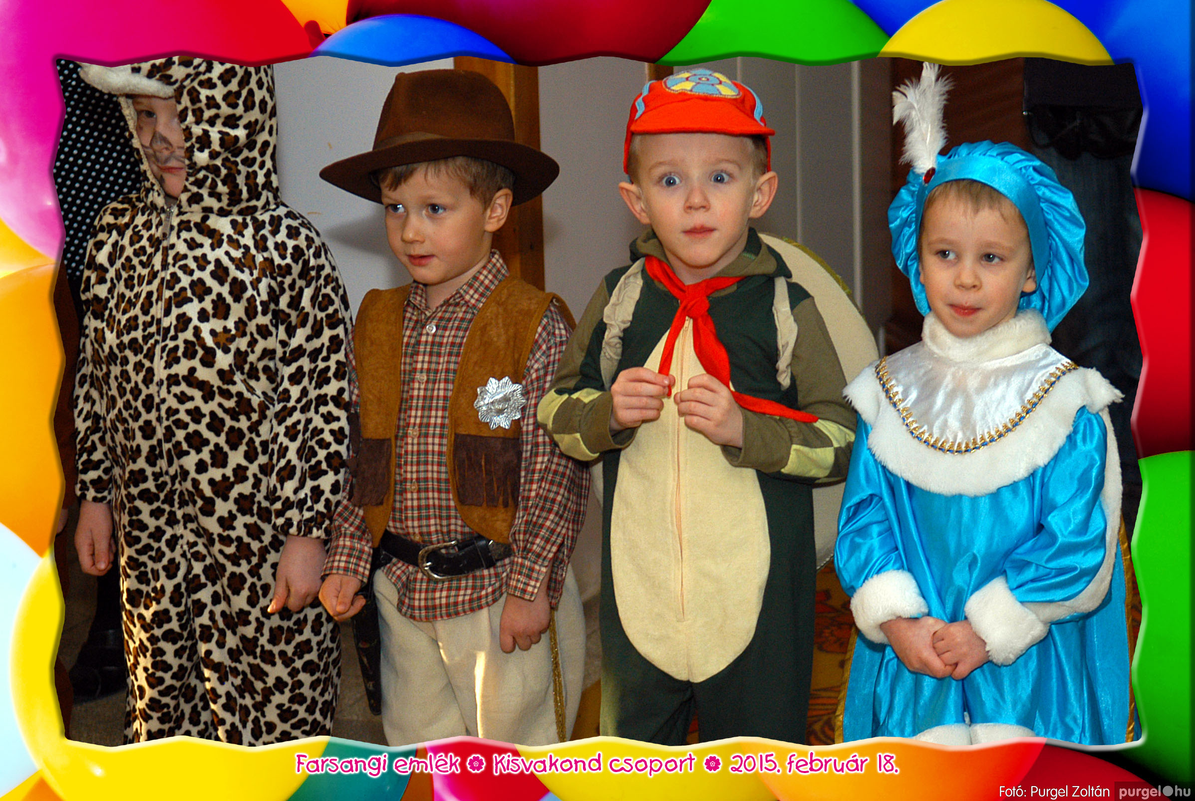2015.02.18. 100 Kurca-parti Óvoda farsang 2015. - Kisvakond csoport - Fotó:PURGEL ZOLTÁN© 304.jpg