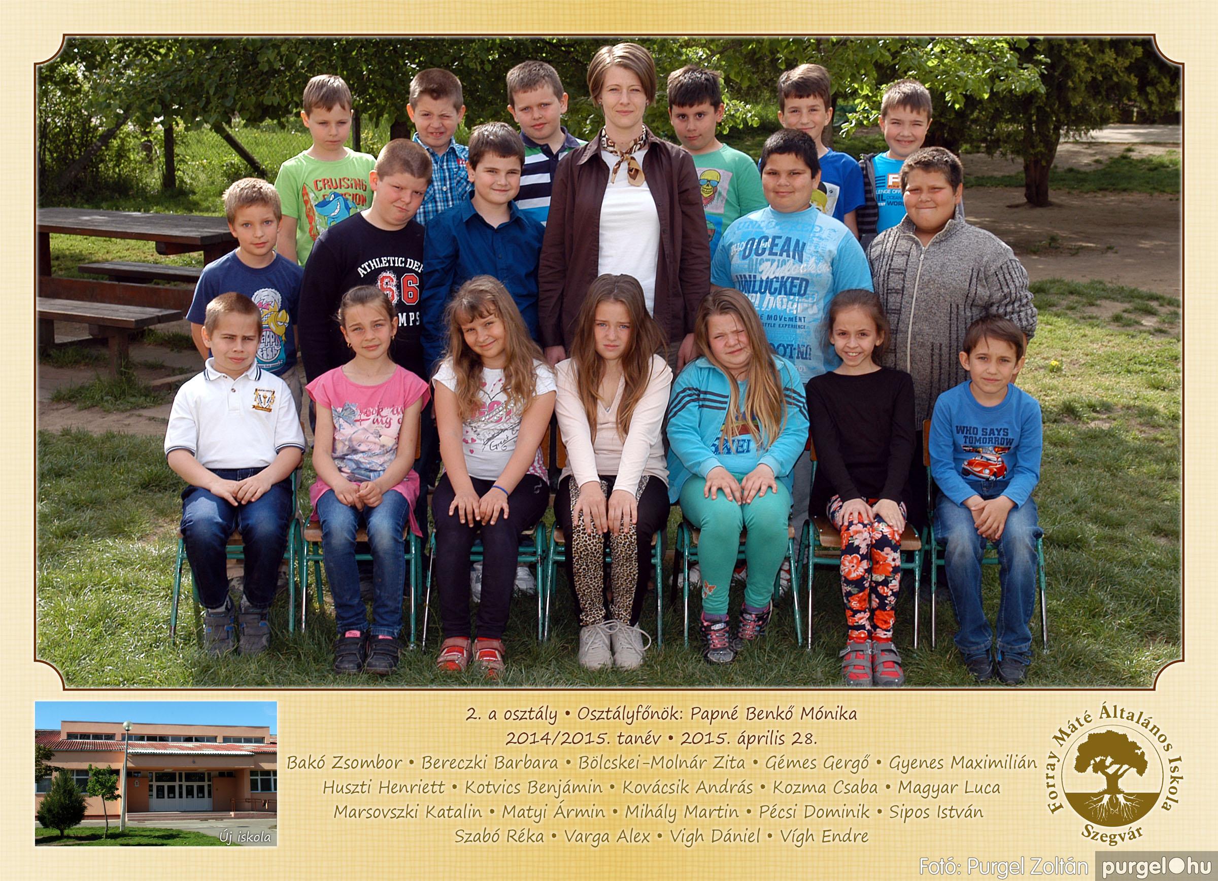 2015.04.28-05.13. 005 Forray Máté Általános Iskola osztályképek 2015. - Fotó:PURGEL ZOLTÁN© 2a-1.jpg