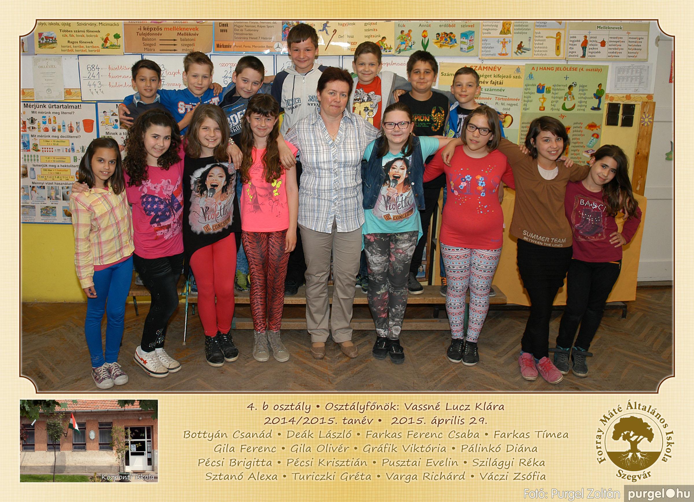 2015.04.28-05.13. 014 Forray Máté Általános Iskola osztályképek 2015. - Fotó:PURGEL ZOLTÁN© 4b-2.jpg