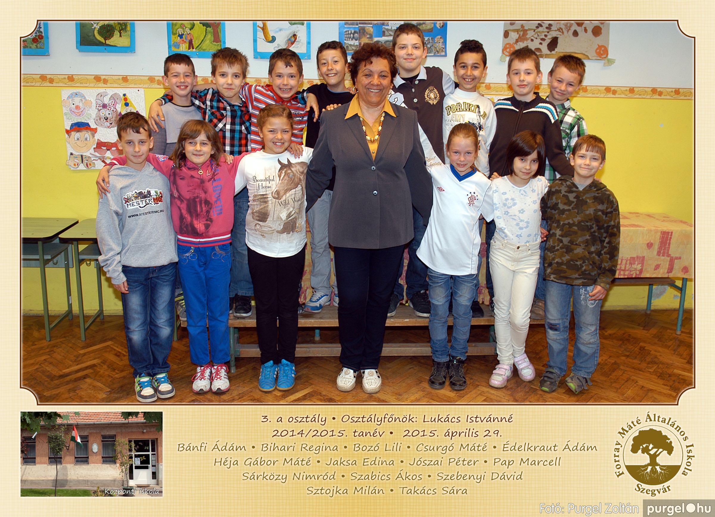 2015.04.28-05.13. 010 Forray Máté Általános Iskola osztályképek 2015. - Fotó:PURGEL ZOLTÁN© 3a-2.jpg