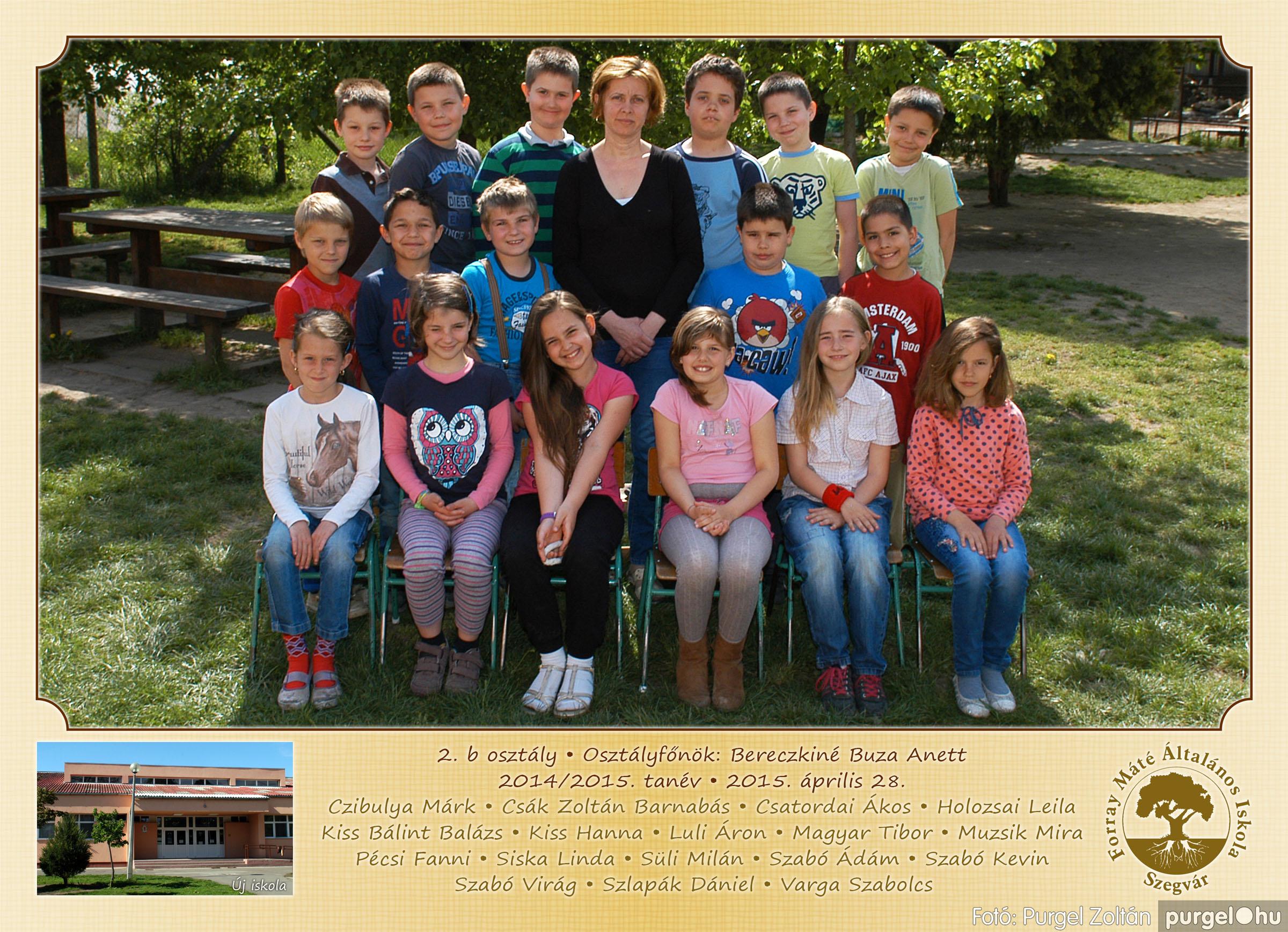 2015.04.28-05.13. 007 Forray Máté Általános Iskola osztályképek 2015. - Fotó:PURGEL ZOLTÁN© 2b-1.jpg