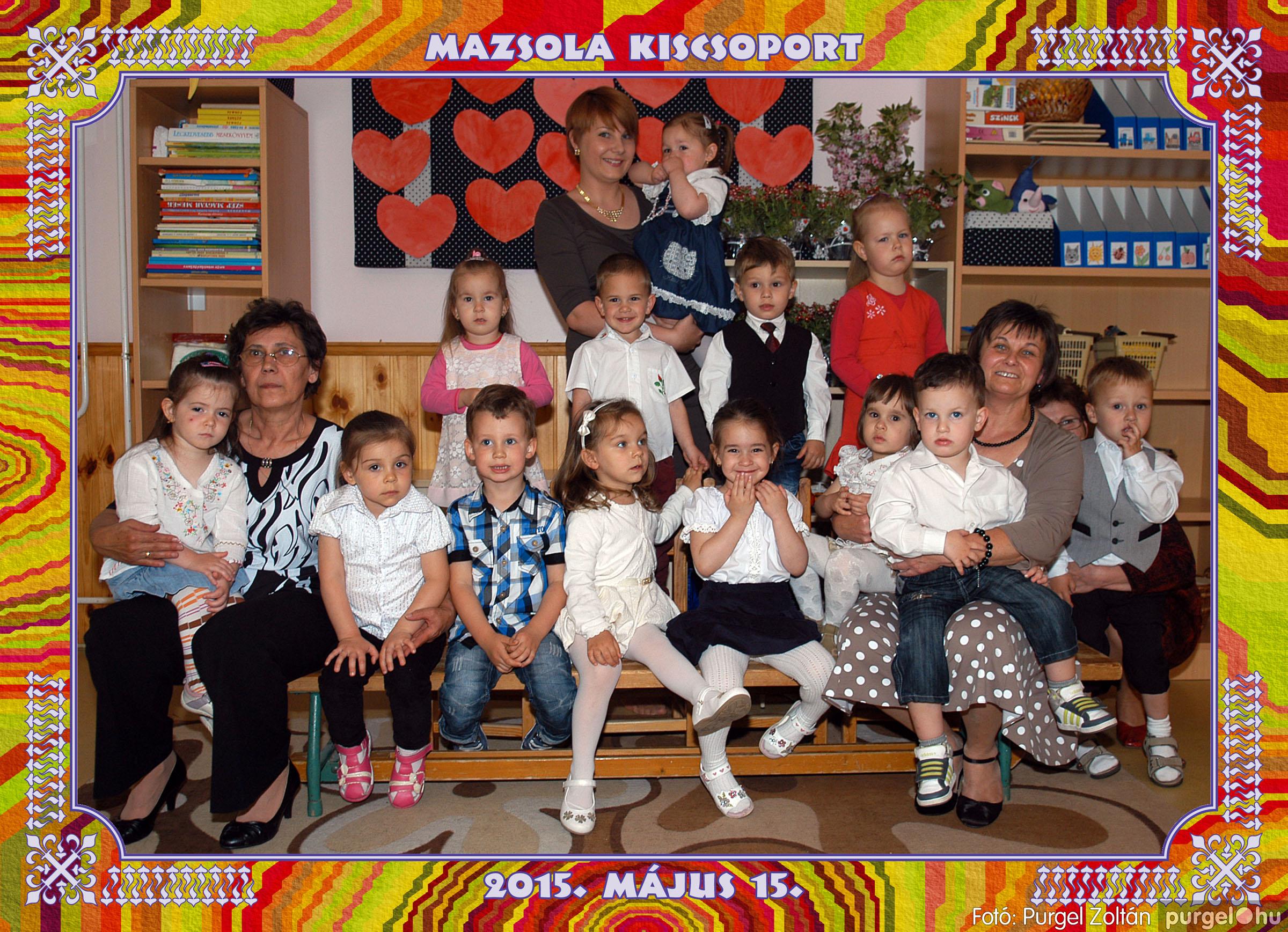 2015.05.15-30. 013 Kurca-parti Óvoda csoportképek 2015. - Fotó:PURGEL ZOLTÁN© MazsolaCsoportkép2.jpg