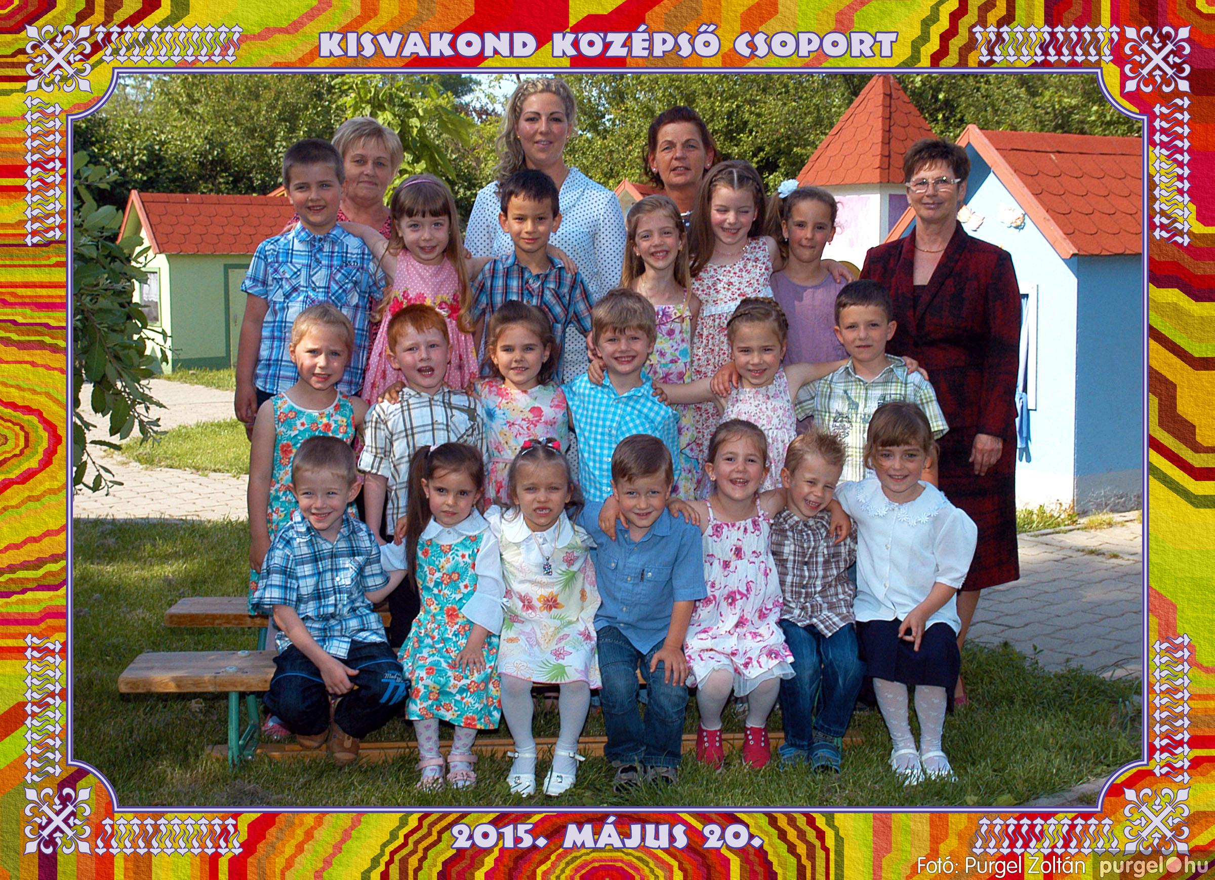 2015.05.15-30. 009 Kurca-parti Óvoda csoportképek 2015. - Fotó:PURGEL ZOLTÁN© KisvakondCsoport2.jpg